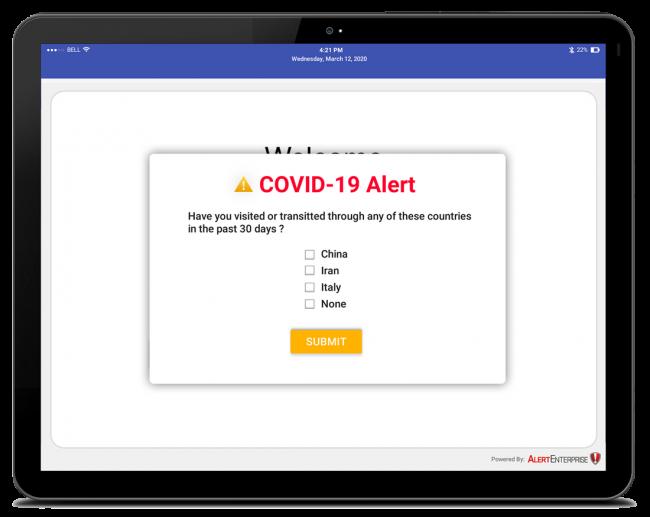covid19-KIOSK_VIM-COVID-19-Alert